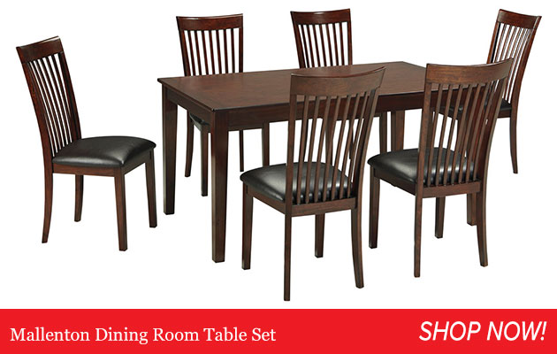 Mallenton Dining Room Table Set